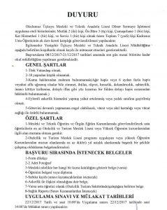 Diyarbakır Yenişehir Kadrosuz Usta Öğretici Alımı_duyuru
