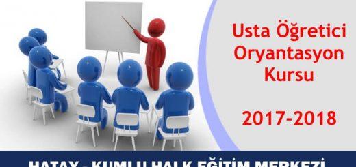 HATAY-KUMLU-Usta-Öğretici-Oryantasyon-Kursu-2017-2018-520x245