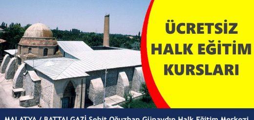MALATYA-BATTALGAZİ-Şehit-Oğuzhan-Günaydın-Halk-Eğitim-Merkezi-Kursları-520x245
