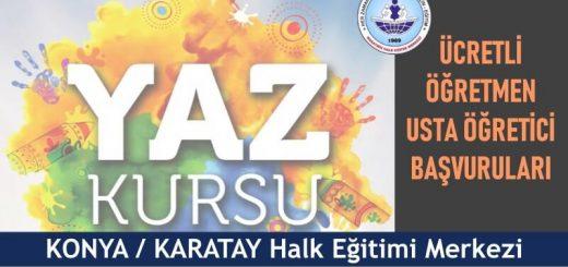 KONYA-KARATAY-Halk-Eğitim-Merkezi-Yaz-Dönemi-Ücretli-Öğretmen-Usta-Öğretici-Başvuruları-520x245