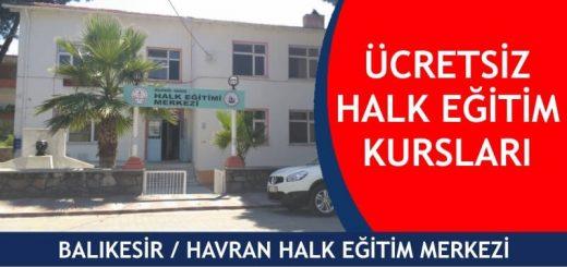 BALIKESİR-HAVRAN-ücretsiz-halk-eğitim-merkezi-kursları-520x245