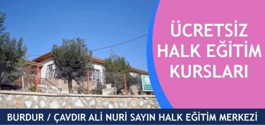 BURDUR-Çavdır-Ali-Nuri-Sayın-Halk-Eğitim-Merkezi-Kursları-520x245