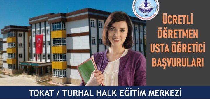 Tokat Turhal Halk Eğitim Merkezi Ücretli Öğretmen Usta Öğretici Başvuruları