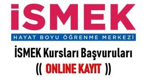 İSMEK Kursları Başvuruları ve Online Kayıt